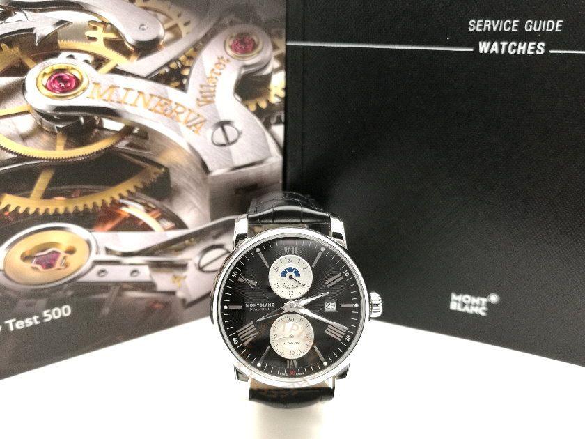 MONTBLANC 萬寶龍 4810系列雙時區腕錶 REF. 114858 5