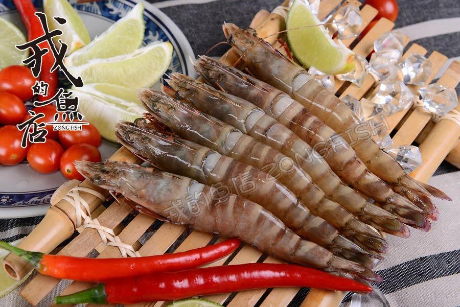 【野生海虎蝦 足400g/盒】 每盒約8~10隻,野生肉質Q彈、海味十足*戎的魚店*