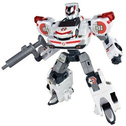 【Fun心玩】TW89373 麗嬰 日本 TAKARA TOMY 緊急救援隊 DH三號白色希望 變形 機器人 生日 禮物