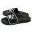 Shoestw【360263-01】PUMA LEADCAT 拖鞋 運動拖鞋 基本款 黑色 白邊 大LOGO 男生尺寸 1