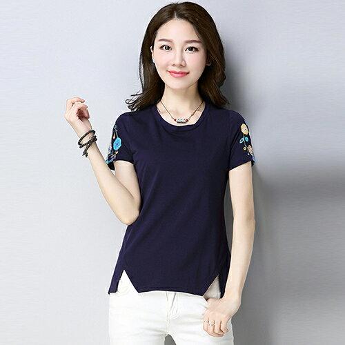修身印花時尚T恤(5色M~4XL)*ORead* 3