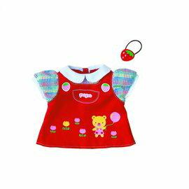 【全新品出清只有一組】POPO-CHAN-洋娃娃草莓吊帶裙組合[不含洋娃娃]349元