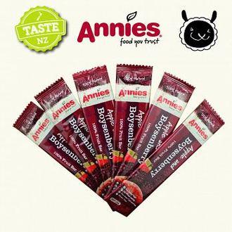 【壽滿趣- 紐西蘭原裝進口】Annies 全天然水果條(波森莓15gm6片裝) 2