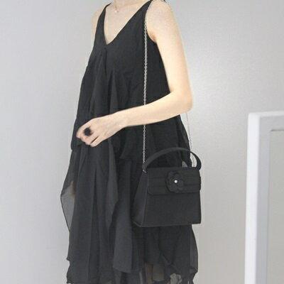 肩背包小花手提包-時尚百搭翻蓋式兩用女包包73so3【獨家進口】【米蘭精品】