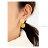 日本CREAM DOT  /  ピアス 金属アレルギー ニッケルフリー レディース ブランド 揺れる ボール メタル レトロ 大人カジュアル 可愛い モカ アイボリー マスタード ミント コーラル  /  a03610  /  日本必買 日本樂天直送(1098) 4