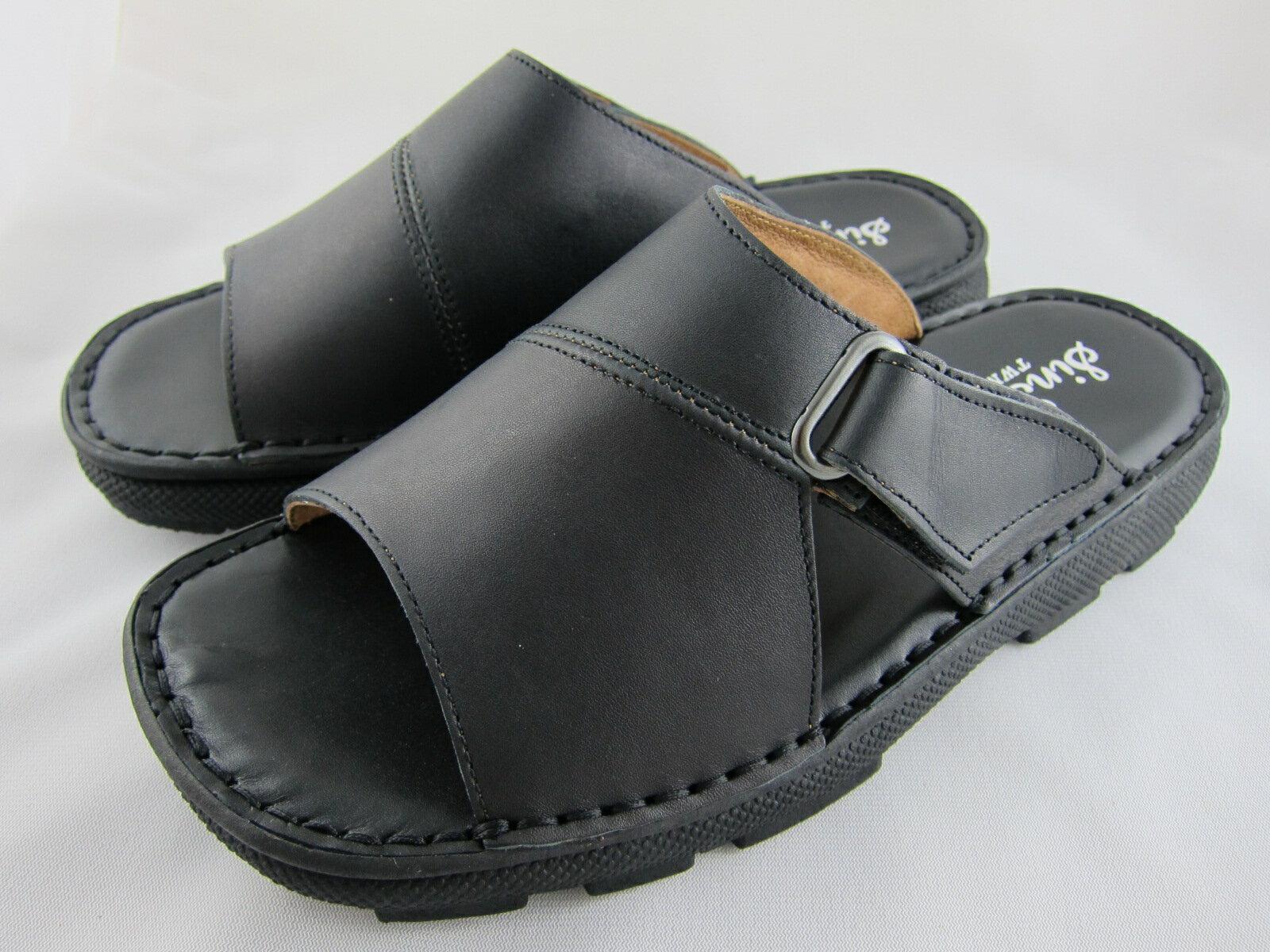 真皮工坊~穿過的都說讚【B1011】比氣墊鞋好穿*保證㊣牛皮真皮手工男拖鞋【顏色多種可自選、顏色挑選請參考首頁】