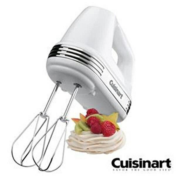 【現貨+贈高精度自動電子秤】Cuisinart HM-70TW 美膳雅200W七段速專業手持攪拌機 攪拌器
