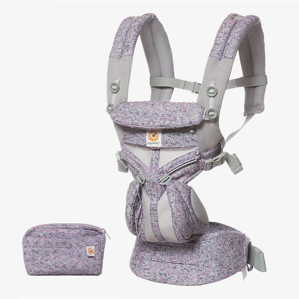 Ergobaby Omni全階段型四式360透氣款嬰兒揹巾/揹帶-粉紅數碼