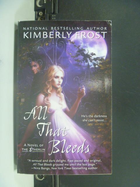 ~書寶 書T6/原文小說_GRX~All That Bleeds_Kimberly Fro