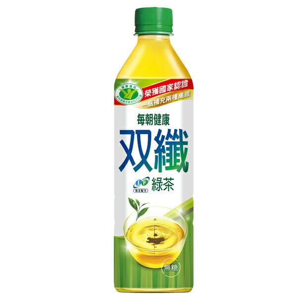 每朝健康 雙纖綠茶 650ml