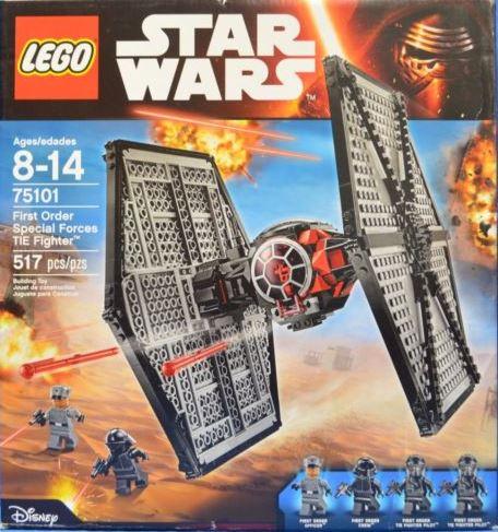【瞎買天堂x現貨免運】樂高 LEGO 星際大戰 75101 鈦戰機【TYLESW09】