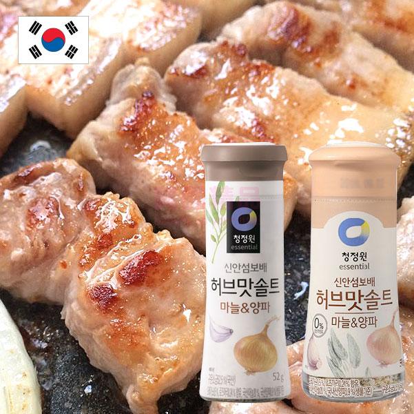 韓國 大象 韓式烤肉蒜味調味鹽 蒜鹽 調味鹽【特價】§異國精品§