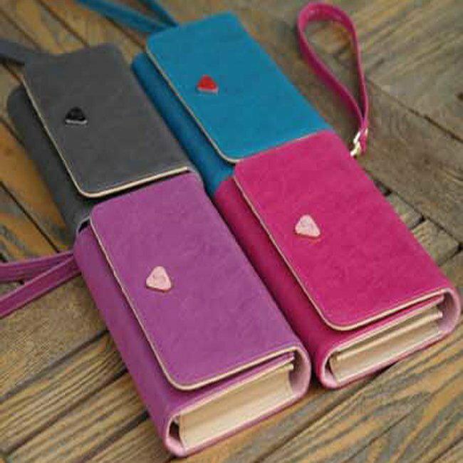 ^~ Anne  Alice包包購 ^~ ^~ 多 純色手機包零錢包卡包手拎錢包 ^~多色