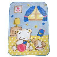 彌月寢具用品推薦到Baby City  LittleCoro兒童毛毯-藍/防風/冷氣毯/彌月禮 (精美禮盒裝,送禮自用兩相宜)就在麗兒采家推薦彌月寢具用品