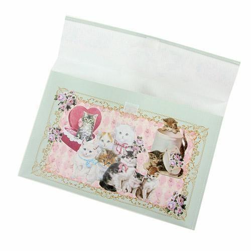 日本製貴族貓咪B5資料夾文件夾tiffany藍984033