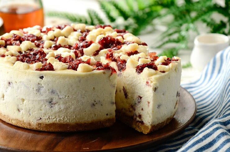 ❤蔓越莓生乳重純起司6吋❤重純乳酪、聚會甜點~彌月蛋糕~團購美食~伴手禮▶全館滿499免運