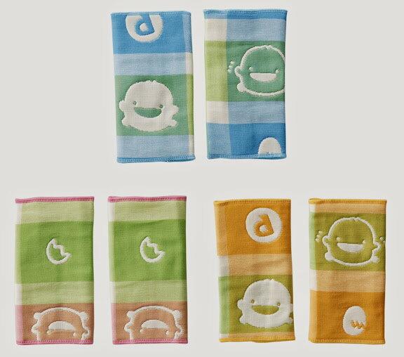 ★衛立兒生活館★PiYo黃色小鴨 六層立體紗系列-口水揹帶套(顏色隨機)