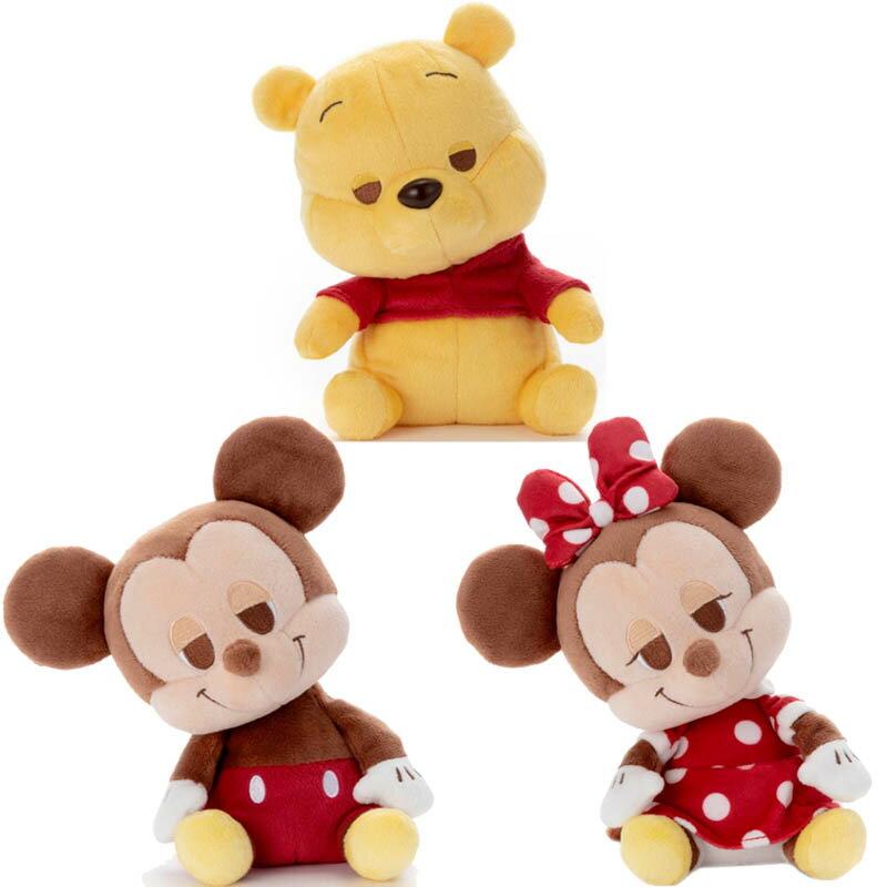 【Fun心玩】TA54600/01/04 正版 迪士尼 睡覺好朋友 瞌睡米奇 米妮 維尼 療癒玩偶 禮物