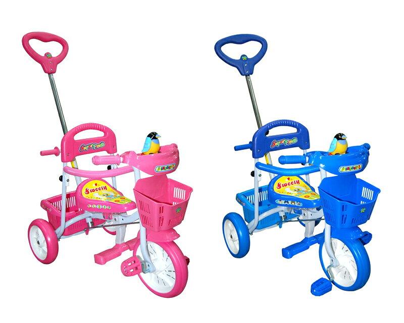 EMC 企鵝三輪車(粉紅、藍色)【德芳保健藥妝】