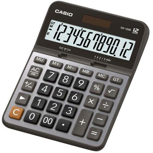 【CASIO 卡西歐 計算機】 CASIO DX-120S 桌上型計算機12位