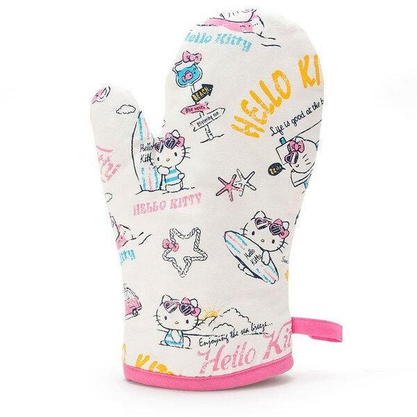 X射線【C360002】Hello Kitty 隔熱手套-夏季廚房,防燙夾/隔熱/保溫/烘焙烤箱專用手套/杯蓋/隔熱墊/桌墊