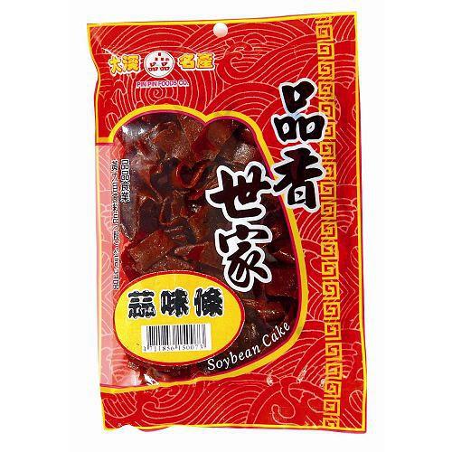 桃園大溪品香世家品品黃大目-蒜味條豆乾115g【愛買】