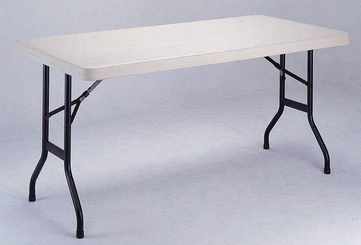【MK3060】152X76公分超實用環保折疊收納桌/補習班/辦公室工作桌/教學用桌/佛堂用桌/展覽桌/戶外活動桌★★♪♪外銷優質收納桌♪♪