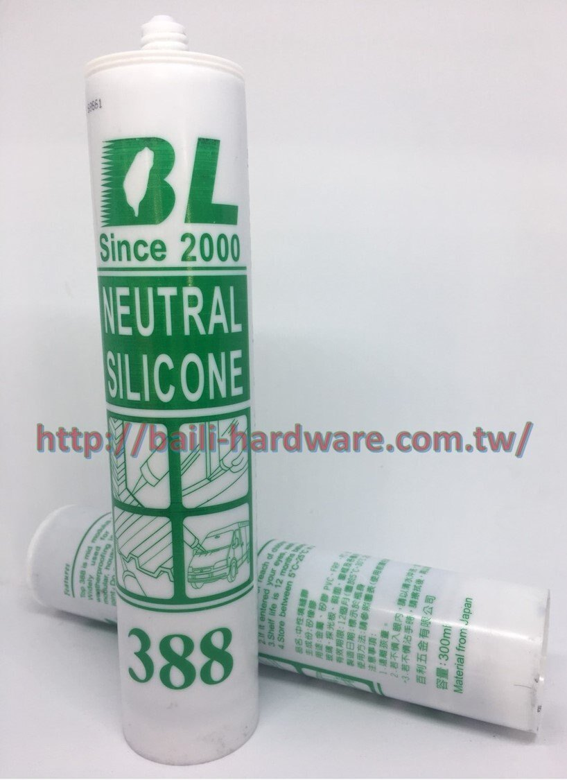 388 中性矽利康 足量300ml非一般市售250ml 塑鋁板 採光罩 遮雨棚 PC耐力板專用(中性咖啡色)