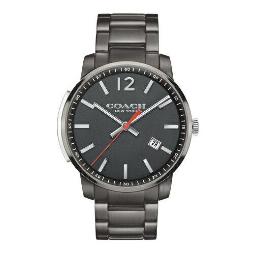 COACHMenBleecker時尚腕錶黑面x黑灰色14602002