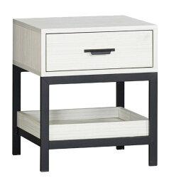 【尚品家具】JF-113-2 凱里雪杉白床頭櫃