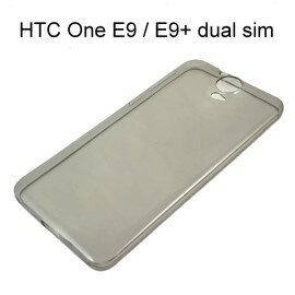 超薄透明軟殼  透灰  HTC One E9   E9 dual sim  E9 Plus