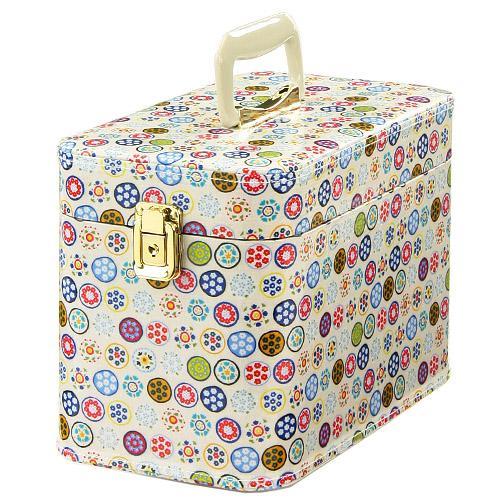 日本代購預購日本製手提化妝箱收納箱置物箱收納盒置物盒30cm525-294