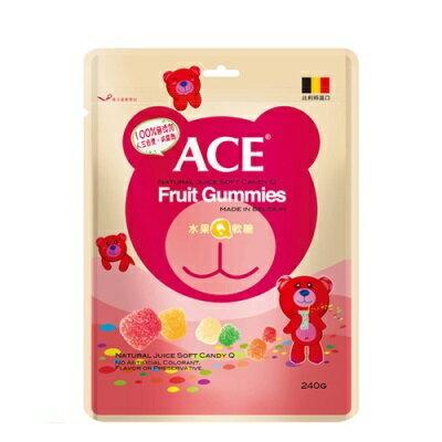 ACE水果Q軟糖量販包 240g