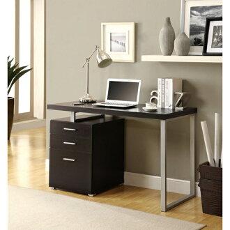 摩登電腦書桌 (古典胡桃木) / 書桌 / 電腦桌 / 辦公桌 & DIY組合傢俱