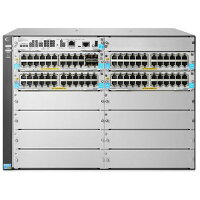 JL001A HP 5412R 92GT PoE+/4SFP+ (No PSU) v3 zl2 Switch - 92 Ports - Manageable - 12 x Expansion Slots - 10/100Base-TX, 10/100/1000Base-T, 10GBase-X - Modular - 92, 4, 8 x Network, Expansion Slot, Expansion Slot - Twisted Pair, Optical Fiber NEW!