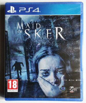 美琪PS4遊戲 斯凱爾女士 斯蓋爾女僕 Maid of Sker 中文英文 恐怖