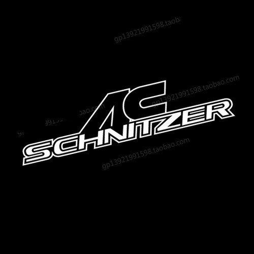 吃銅吃鐵 現貨發出AC Schnitzer 改裝貼紙 車貼 寶馬 御用改裝 汽車貼紙 後檔貼 BMW 車內貼 後保桿 燈眉