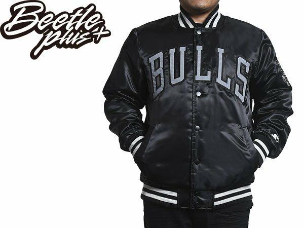 BETTLE NBA CHICAGO BULLS STARTER JACKET 芝加哥公牛 黑標 M 0
