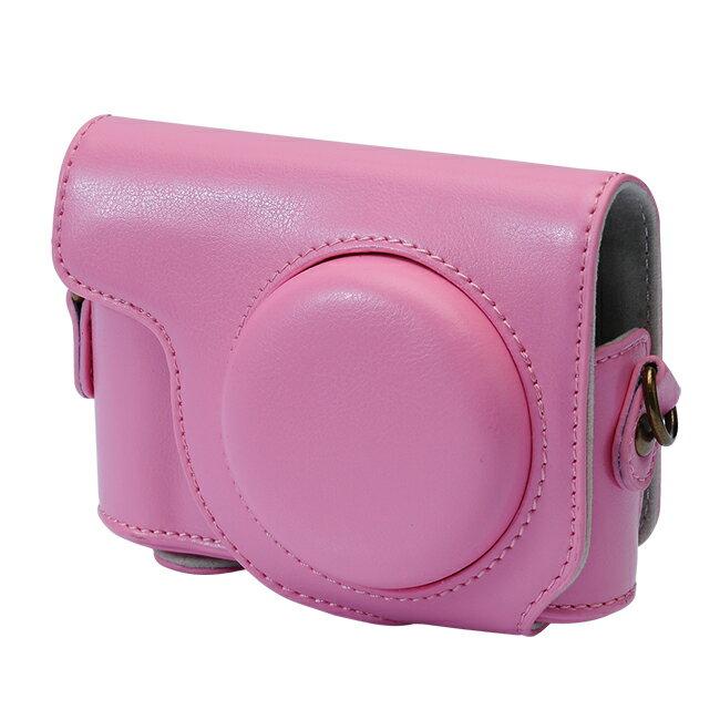 【和信嘉】CASIO ZR3600 ZR3500 可拆式相機皮套 (粉色) Kamera 相機包