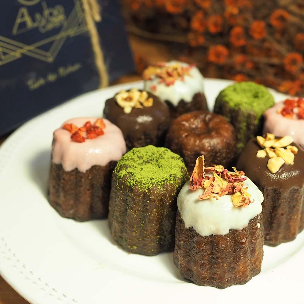 艾樂比 【九入夢幻可麗露】 甜點 法式小點 下午茶點心 可麗露 canele aluvbe