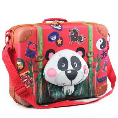 德國okiedog 3D動物造型手提箱-熊貓