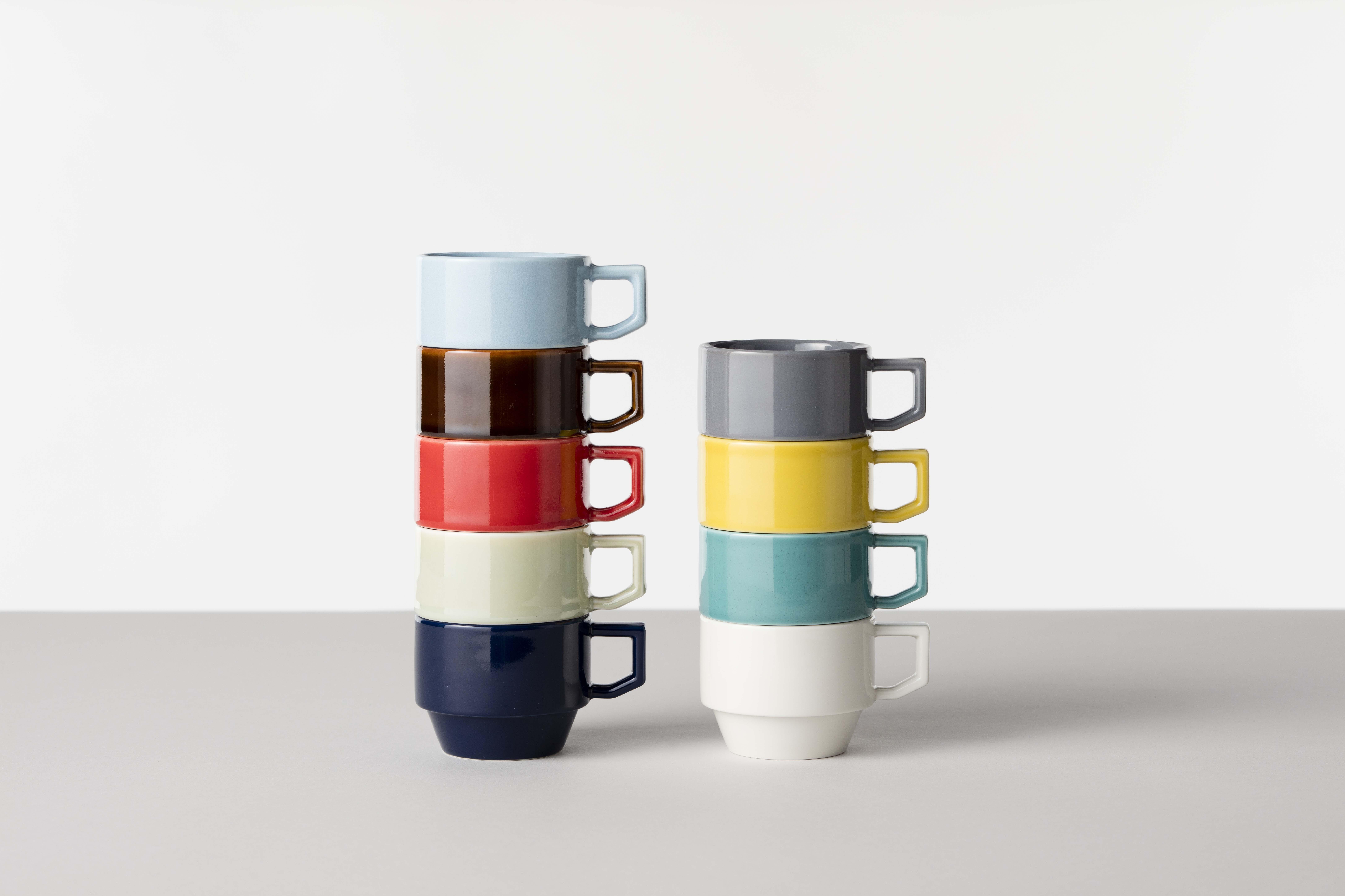 賞器選【HASAMI】堆疊杯繽紛茶杯咖啡杯