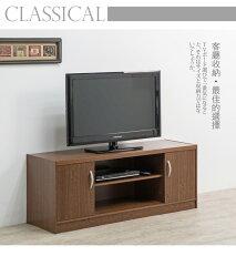 電視櫃/影視櫃/收納 TZUMii日式簡約雙門二格電視櫃