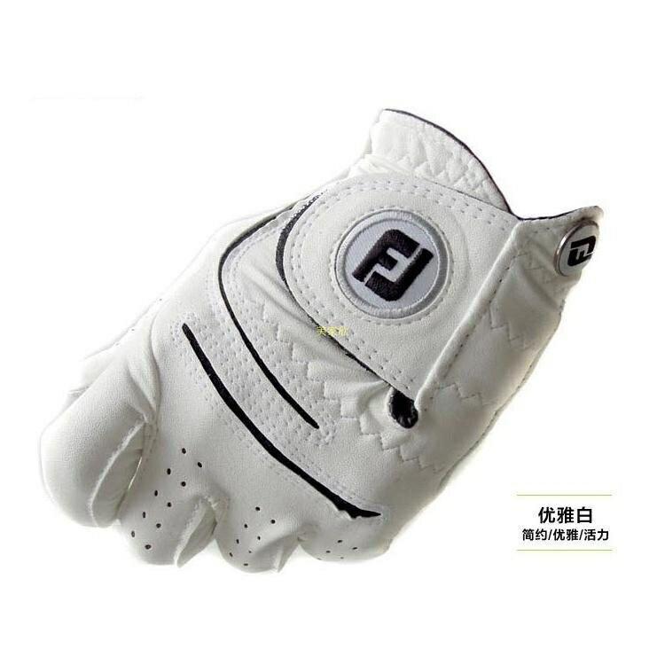 高爾夫手套 男女款小羊皮手套FJ女士雙手手套 左右手防滑透氣耐磨 AG