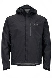 【【蘋果戶外】】marmot30380-0001黑色美國男MinimalistPacliteGORE-TEXGTX土撥鼠防水外套GTX防風外套風衣雨衣風雨衣