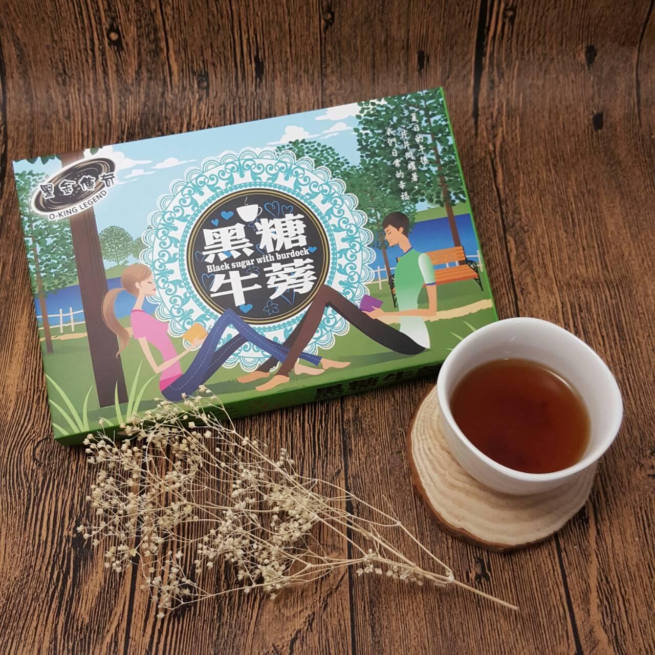 黑糖牛蒡茶(禮盒)大顆淨重210G 2