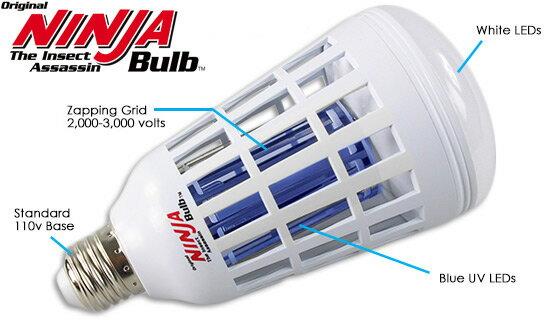 2-in-1 Mosquito Killing LED Light Bulb 3