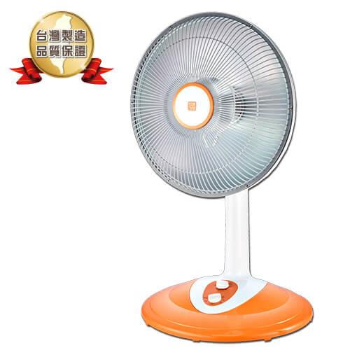 <br/><br/>  【風騰】40CM  直立定時鹵素電暖器 FT-550T  (400/800W) (橘色)<br/><br/>
