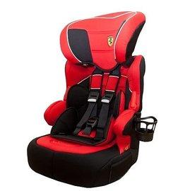 【淘氣寶寶】法國 Ferrari 法拉利 旗艦成長型汽車安全座椅 3-12歲專用(含杯架)【公司貨●法國生產製造●品質保證】