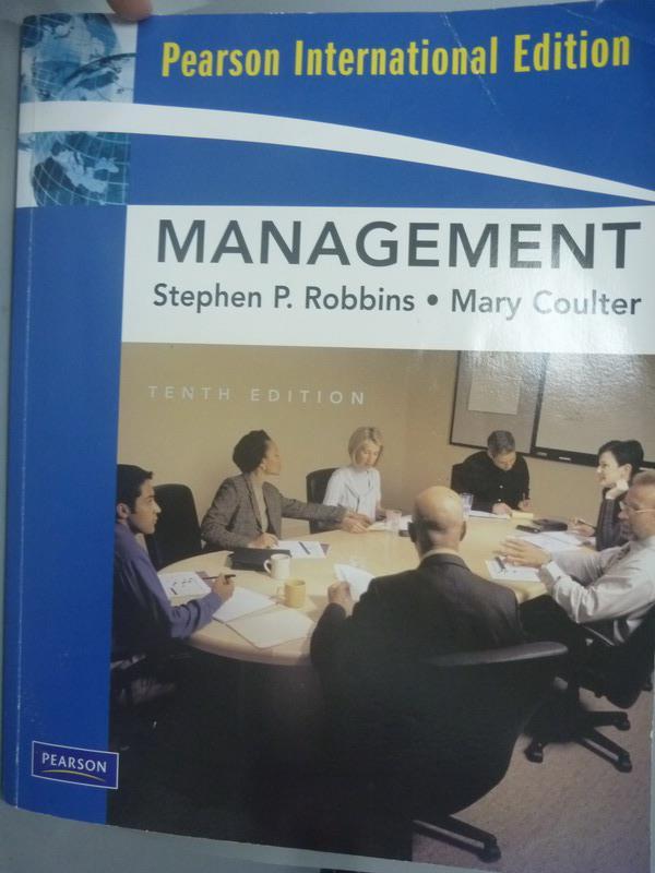 ~書寶 書T5/大學商學_YGM~Management 10  e_Stephen P.